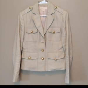 Michael Kors Blazer fully Lined Gold Buttons Size8